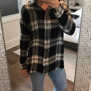 BDG flannel Tunic